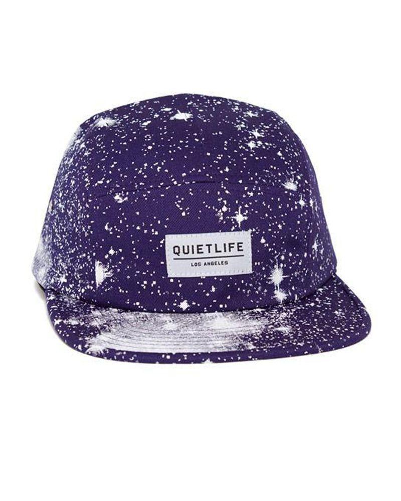 The Quiet Life Cosmos 5 Panel Camper Hat (Purple)  86690f6d938d