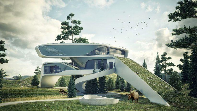 great futuristic home decor for future homes and home interior