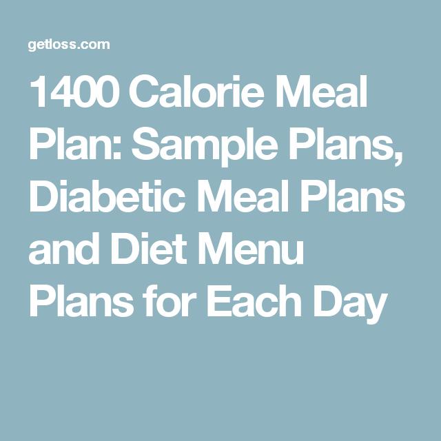 diabetic meal plan template