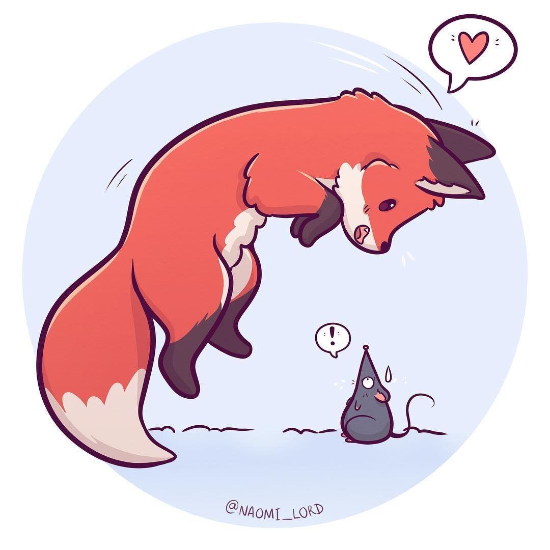 Animal Cartoon Drawings Cute