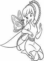 Dla Dziewczyn Kolorowanki Wrozki Disney Jelonka Numer 3