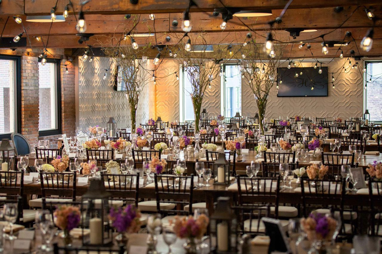 Gorgeous Wedding Setup At The Minneapolis Event Center In St Anthony Main