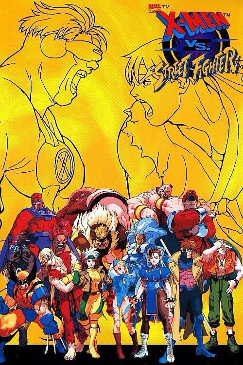 X Men Vs Street Fighter Thanos Vingadores Ilustracoes Ilustracao De Personagens