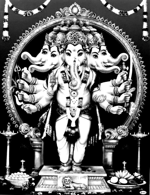 to print this free coloring page coloring india ganesha elephant