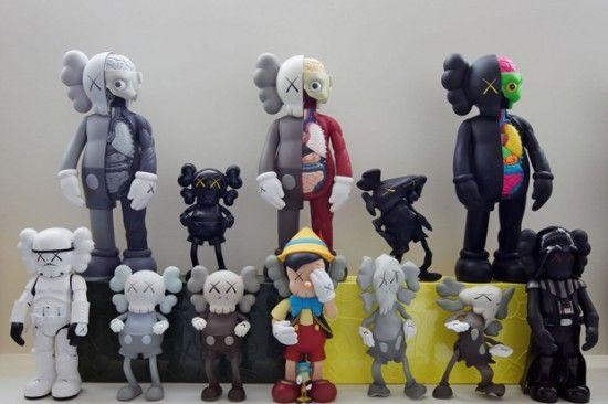 Pirovino Kaws Collection Art Toy Designer Toys Vinyl Toy Sculpture