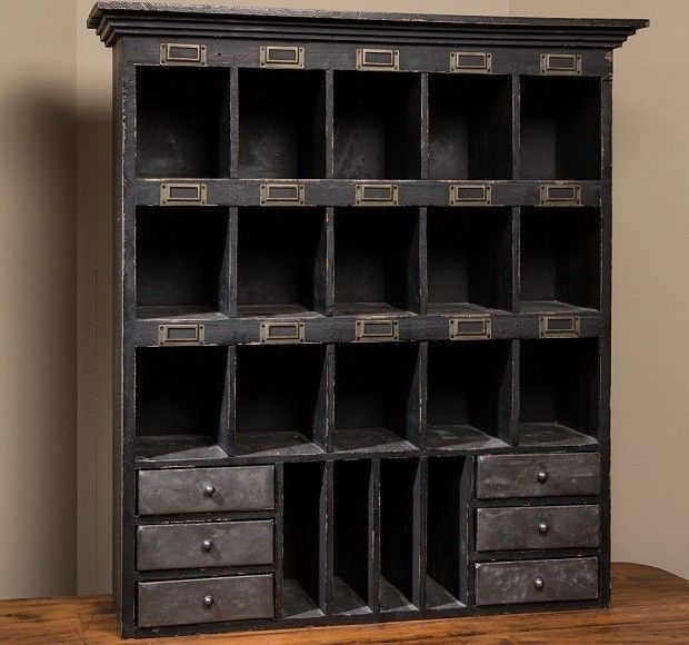 Antique Furniture Supplies Mail: Vintage Inspired Mail Sorter