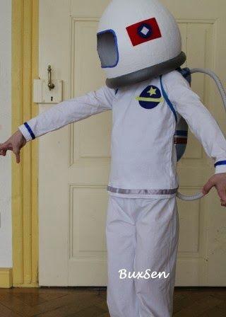 Buxsen Astronaut Karnevals Kostum Sew Along Finale Fasching