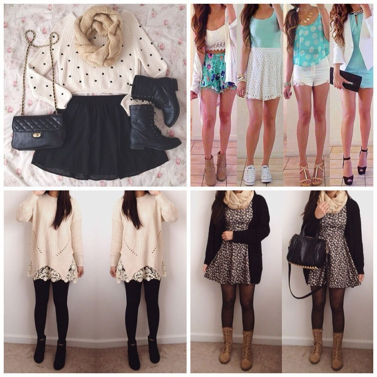 The Various Options For Cute School Outfits : Teen Casual ...