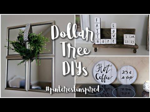 203 Pinterest Diy Dollar Tree Diy Farmhouse Decor Youtube