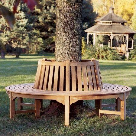 Windermere Circular Bench Teak Garden Bench Tree Bench Teak Bench Outdoor