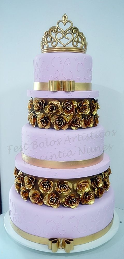Pin by Candace Land on cakes Pinterest 15 anos Bolo fake and Cake