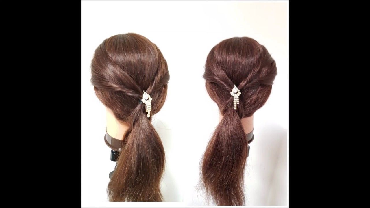 Front Hairstyle Twist Hairstyle Open Hair Hairstyle Hairstyle For Easy Hairstyles Hair Styles Open Hairstyles