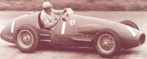 1954 Jose Froilan Gonzalez, Ferrari 625