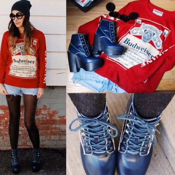 Urban outfitters Budweiser sweater | Urban outfitters, Sweaters ...