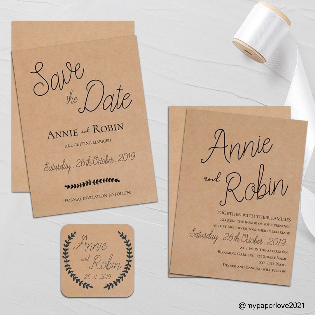 A Collection Of Kraft Paper Background Designs On Products Which