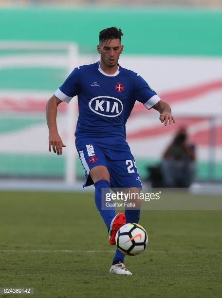 Os Belenenses Defender Florent Hanin From France In Action During