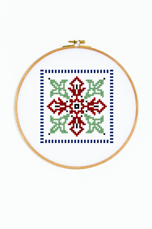 Geometric Azulejo griego - Diagrama | etamin | Pinterest | Bordado y ...