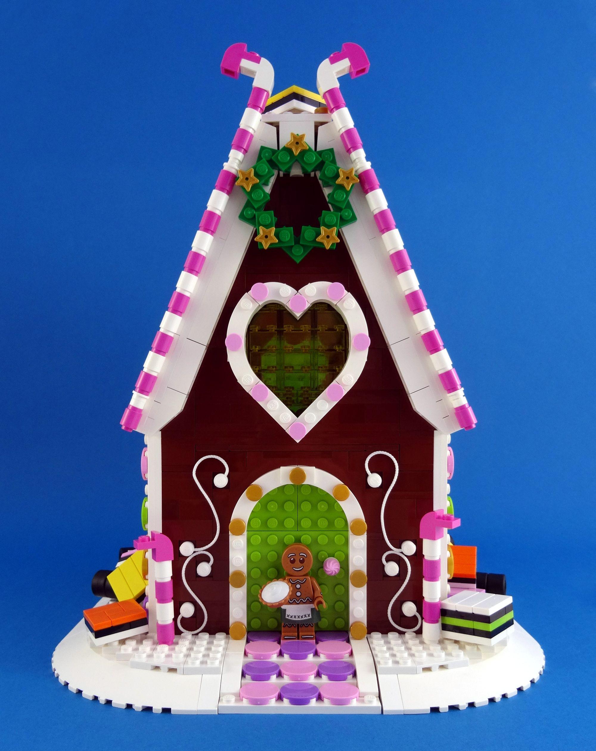Gingerbread House Lego Instructions Pinterest Christmas