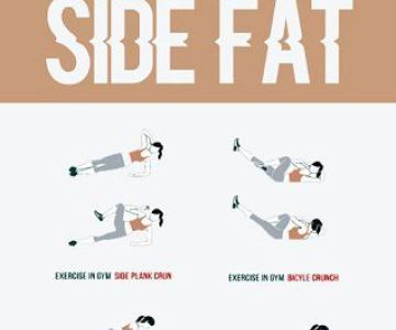 8 effective exercises to reduce side fat of waist  mamboo