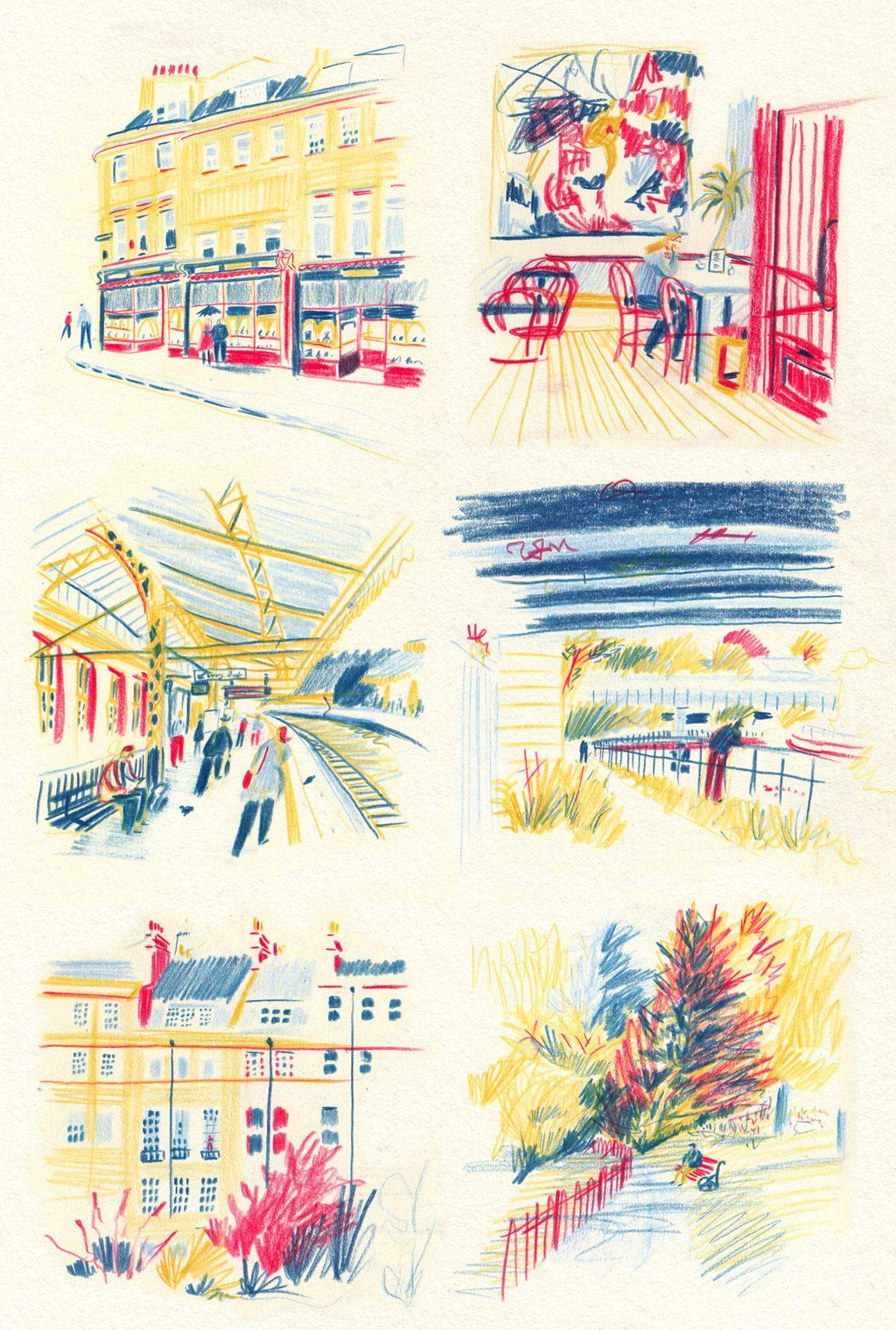 William Grill Illustration Art Art Art Drawings