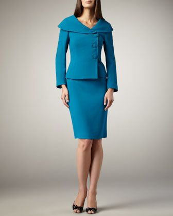 Shawl Collar Suit By Tahari At Neiman Marcus Pahsmark Misc Part