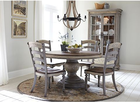 Greyfield Round Dining Table   Havertys