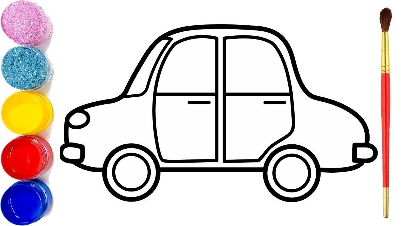 87 Baby Car Coloring Pages Download Free Images