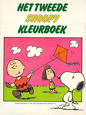 Voorkant van Kleurboek Het tweede Snoopy kleurboek