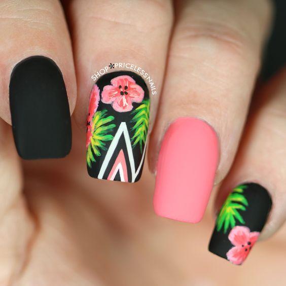 Encuentra más de 50 uñas color rosa, Diseños Actuales (Tendencias ...