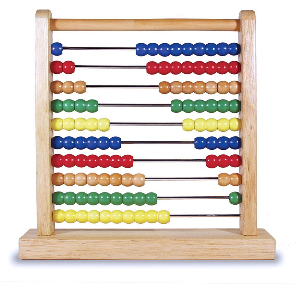 Melissa and Doug Abacus | Abacus, Melissa and doug, Math gift