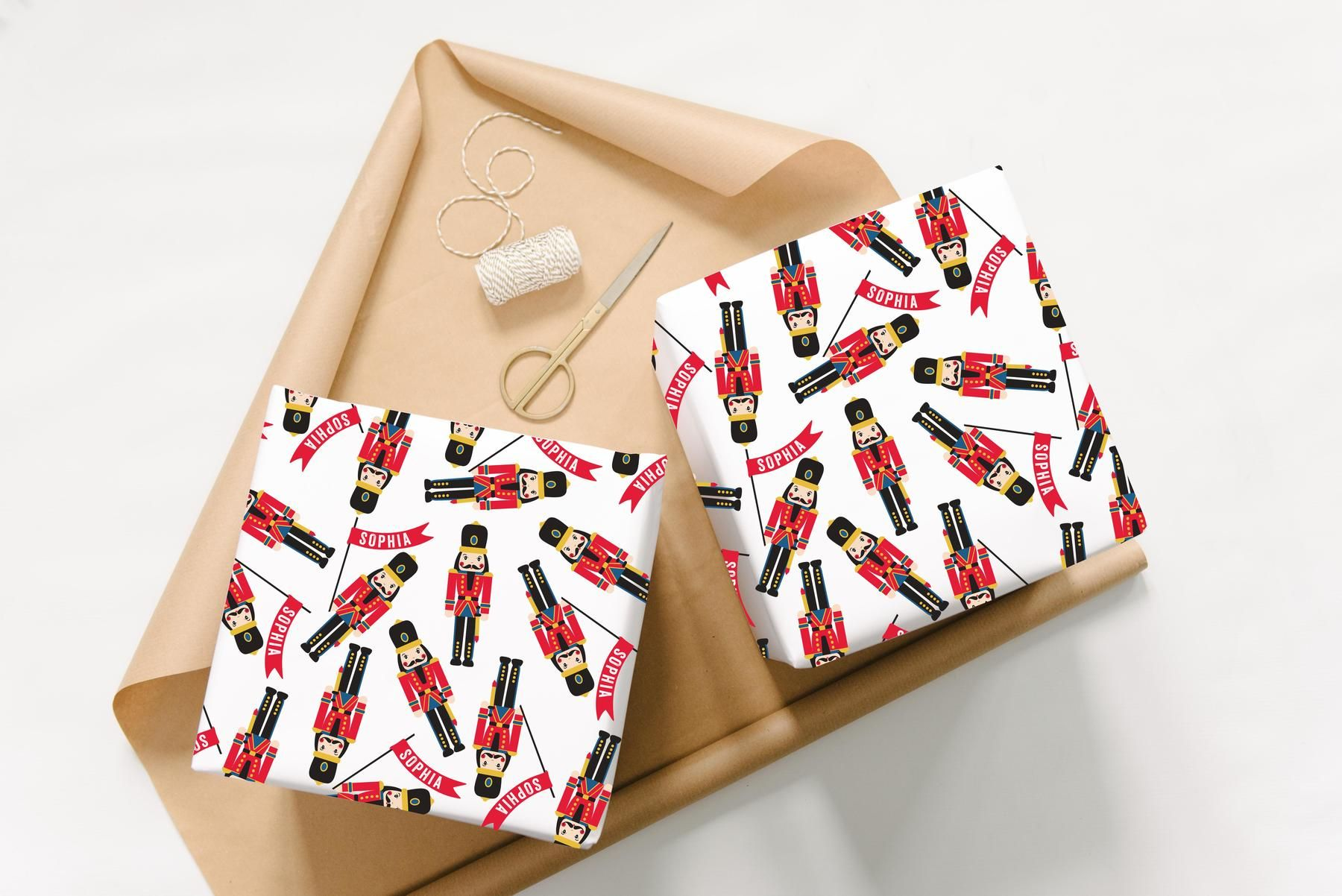 Abigail Warner Personalised Nutcracker Wrapping Paper  Available Exclusively At