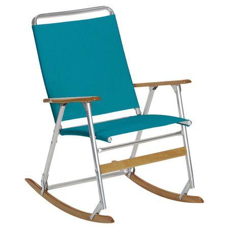 48c4e765ab Featuring a folding design, this portable rocking chair showcases an ...