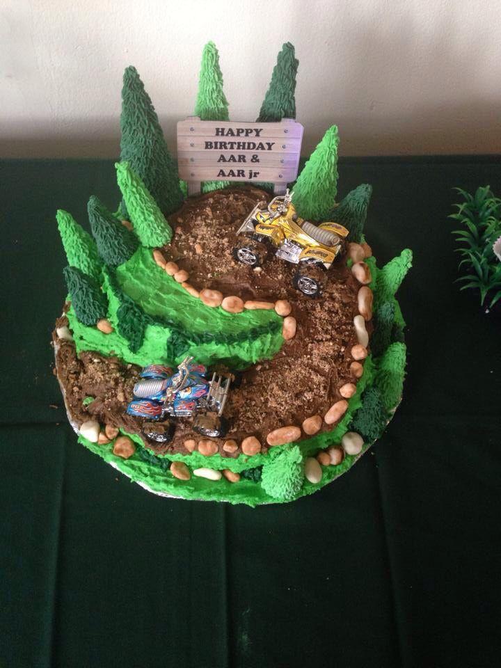 Four Wheeler Cakes Four Wheeler Cake This Cake Is Three Cakes