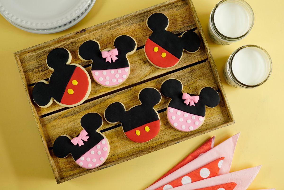 Galletas De Mickey Y Minnie Mouse Mickey Y Minnie Galletas Mickey Minnie