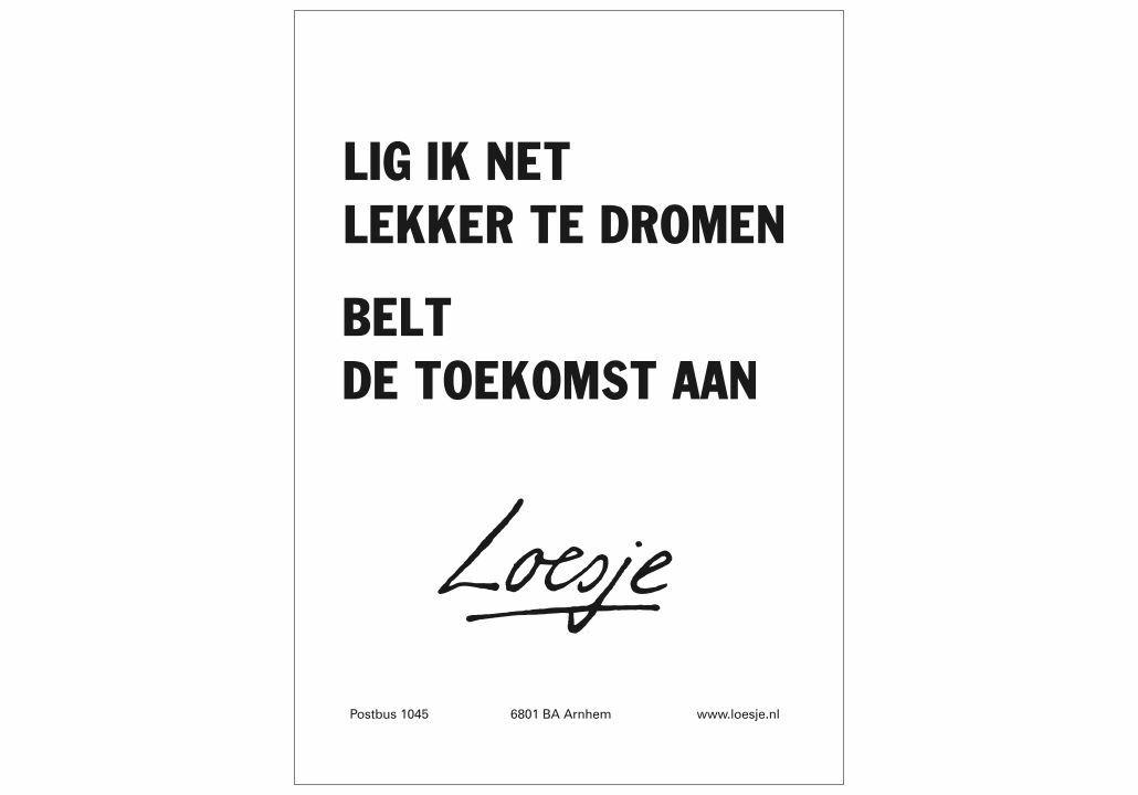 Pin Von Moniek Haan Auf Loesje Niederlandische Zitate