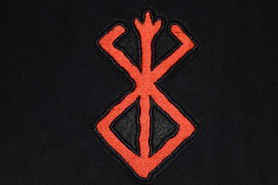 Sewing Patch patches backpack odin viking witchcraft runes alphabet