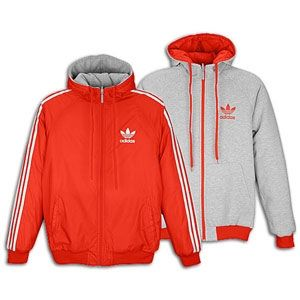 adidas Originals Balance Reversible Jacket Mens Scarlet
