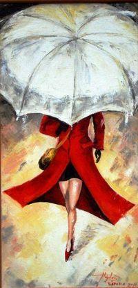 Le Parapluie Jaune Series 5 Parapluie Jaune Art De Parapluie