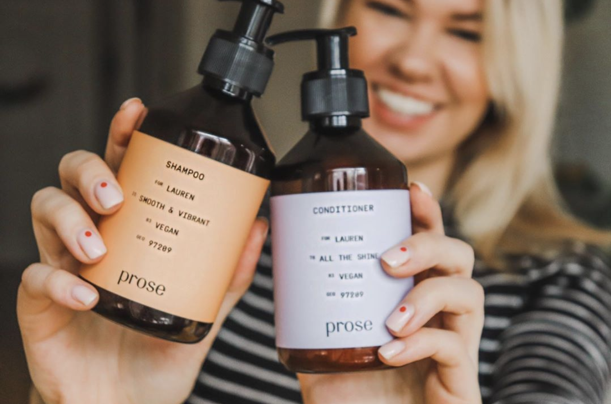 I Tried Prose for 30 Days in 2020 Hair care, Shampoo