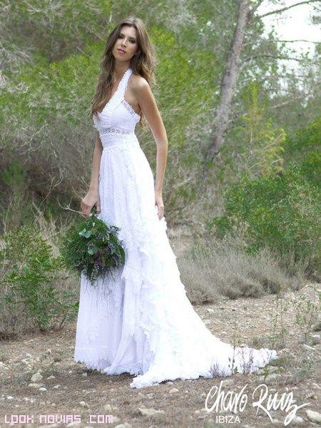 novias con ibicencas. vestido de charo ruiz | novias | wedding