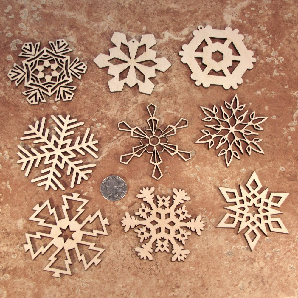 Laser Cut Snowflake Wedding Invitations