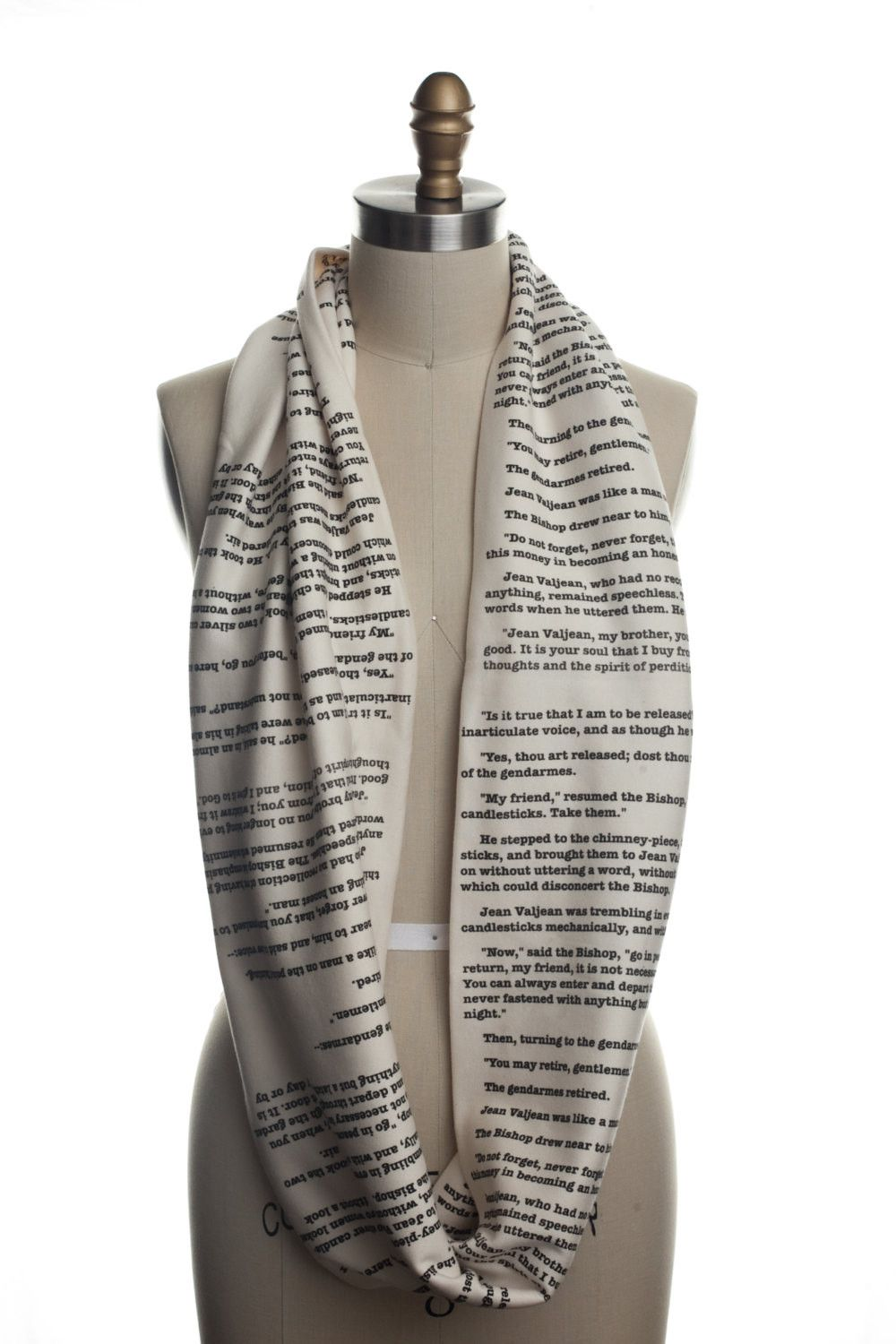 Les Miserables Book Scarf - Storiarts - 2