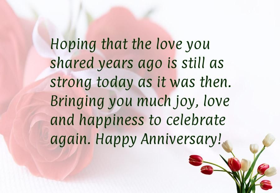 Wedding anniversary quotes for parents quotesgram card