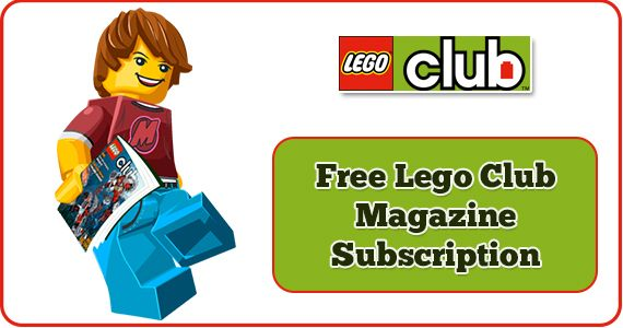 LEGO Club Magazine FREE! If you love Legos you are really going to ...