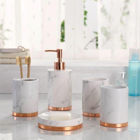 zasluziti inzenjering aditiv accessoire de salle de bain rose