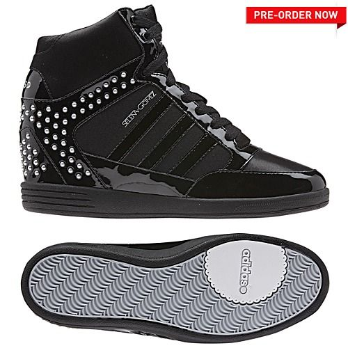 image: adidas Selena Gomez BBNEO Wedge Shoes Q38977 ME    image: adidas Selena Gomez BBNEO Wedge Shoes Q38977   title=          ME
