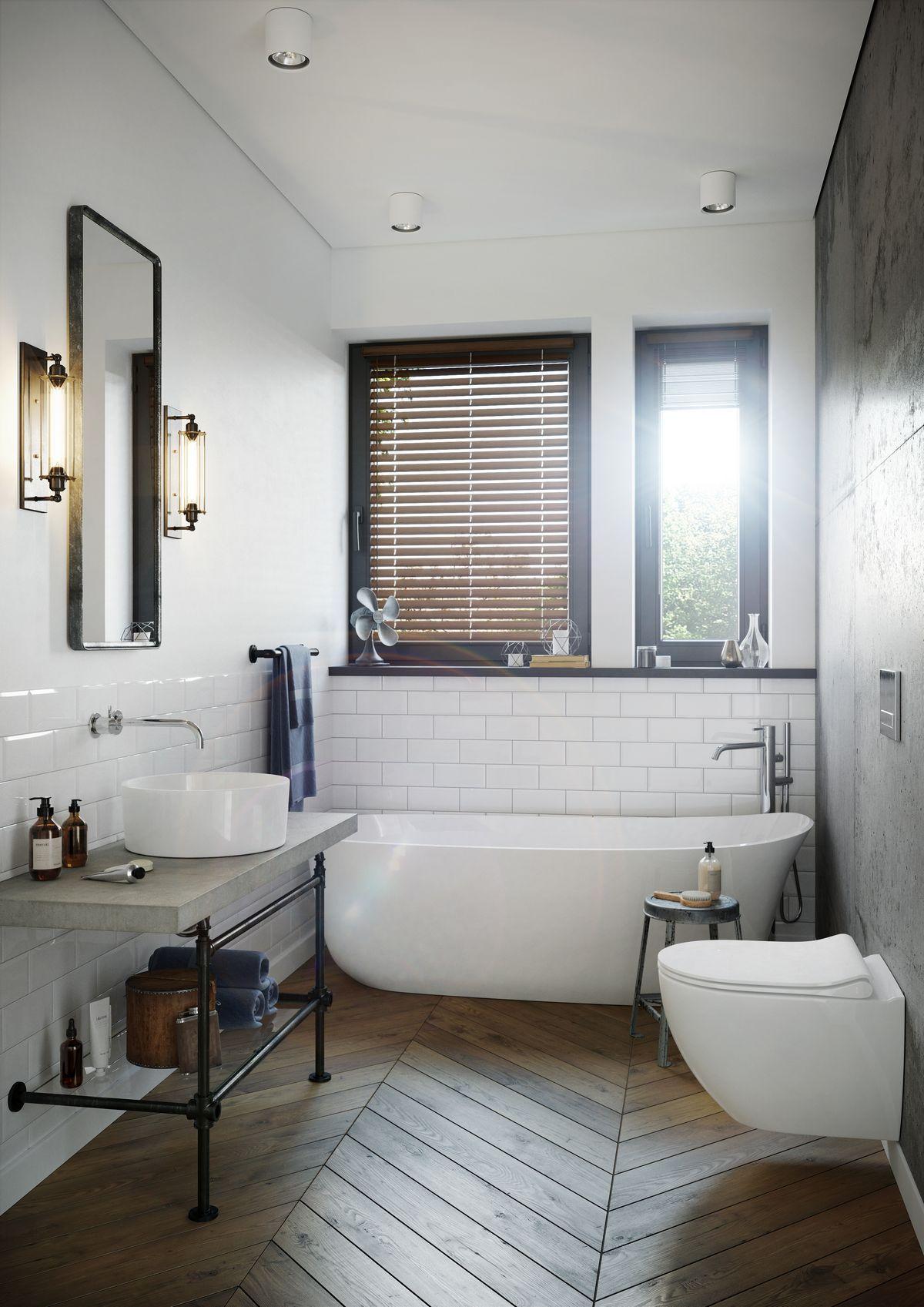 Przejrzysty Murator C365 Propozycja Aranżacji łazienki