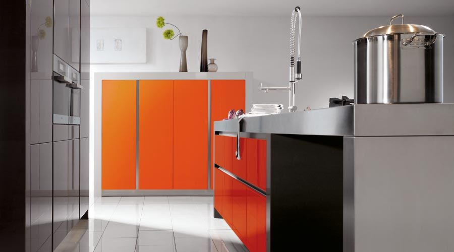 keuken Droom Strijp-R Pinterest Orange kitchen, Orange kitchen