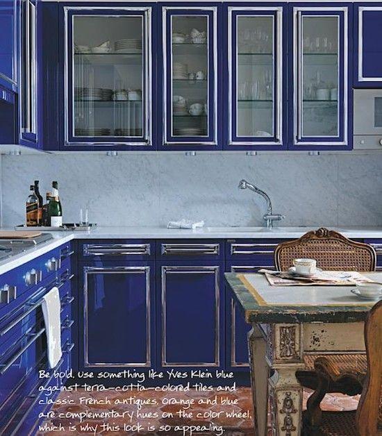 Blue Cabinets Blue Kitchens Kitchen Inspiration Design Kitchen Style