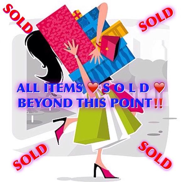ALL ITEMS ❤️ S O L D ❤️ BEYOND THIS POINT‼️ ALL ITEMS ❤️ S O L D ❤️ BEYOND THIS POINT‼️ Other
